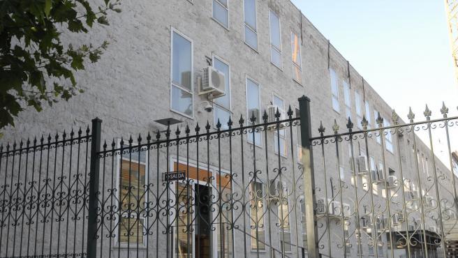 Imagen exterior de las Salesas, sede del Tribunal Superior de Justicia de Cantabria.