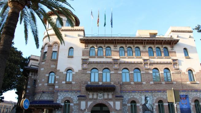 Rectorado de la Universidad de Málaga en una imagen de archivo