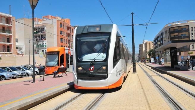 Unidad del TRAM en Alicante