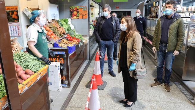 Nota De Prensa. Visita Da Alcaldesa Aos Mercados Municipais