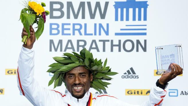Ethiopian olympic athlete Kenenisa Bekele