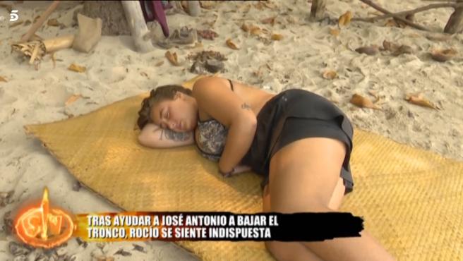 Rocío Flores, en 'Supervivientes'.