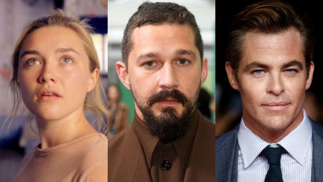 Florence Pugh, Shia LaBeouf y Chris Pine estarán en lo nuevo de Olivia Wilde como directora