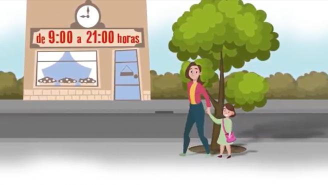 Un adulto puede salir a pasear con hasta tres niños, de 9 de la mañana a 9 de la noche.