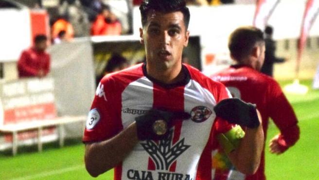 Dani Hernández, capitán del Zamora CF.