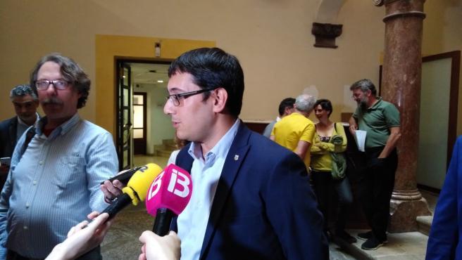 El conseller de Modelo Económico Turismo y Empleo, Iago Negueruela.