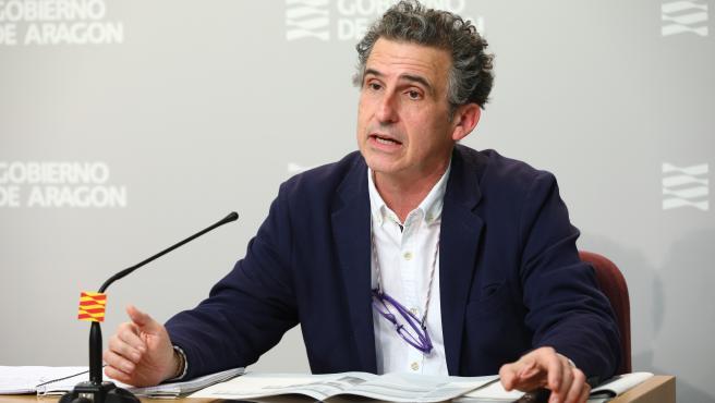El director general de Salud Pública, Francisco Javier Falo.
