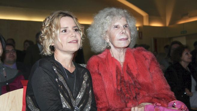 Eugenia Martinez de Irujo y la duquesa de Alba.