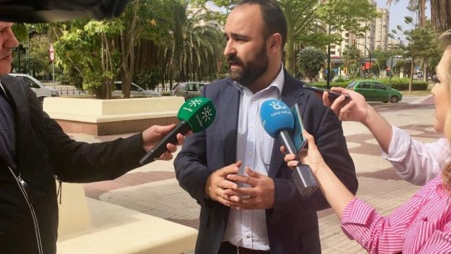 Mario Cortés, diputado nacional por Máñaga y vicesecretario de Comunicación 'popular' en Málaga