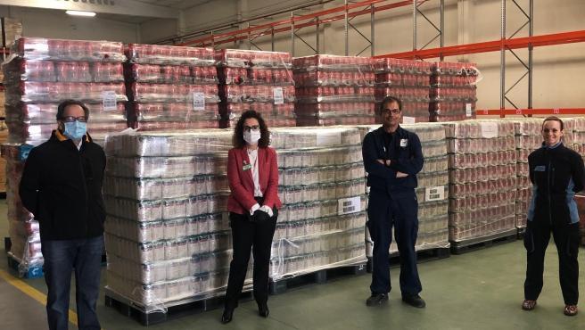 Mercadona continúa reforzando su colaboración con el Banco de Alimentos de Valladolid.