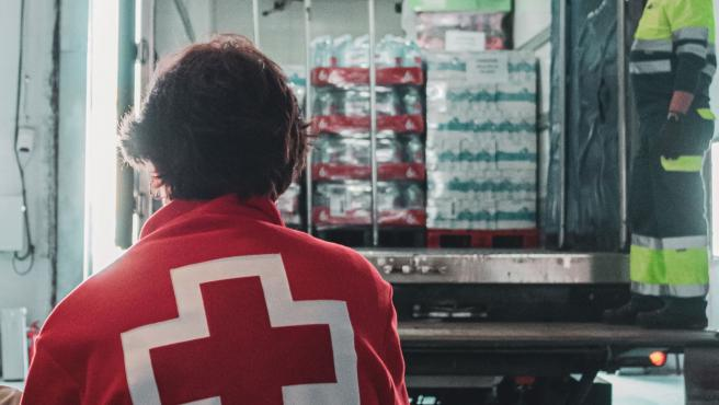 Mercadona dona alimentos Cruz Roja
