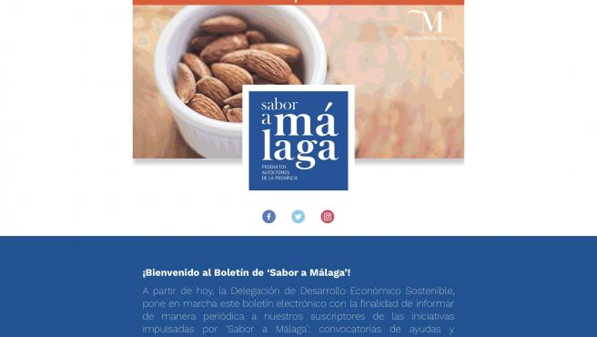 Nota De Prensa: Sabor A Málaga Crea Un Boletín Electrónico Sobre Iniciativas Y Subvenciones Para Informar Y Apoyar Al Sector Agroalimentario