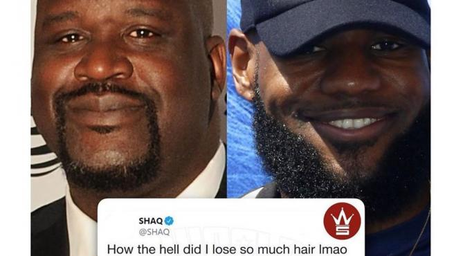 O'Neal publicó la vacilada de LeBron en sus redes sociales.