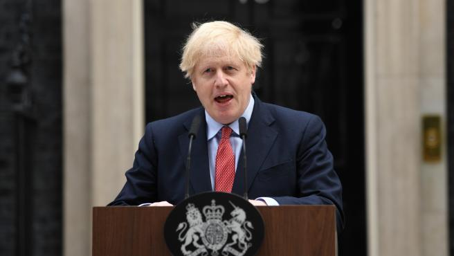 UK Prime Minister Boris Johnson statement in London
