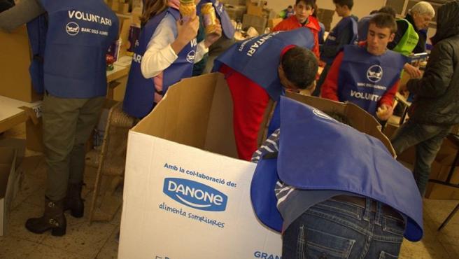 Voluntarios del Banc dels Aliments de Tarragona