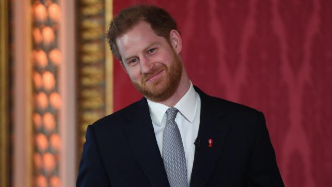El príncipe Harry interviene en un evento en Londres (Reino Unido).