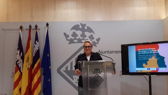La regidora de Justícia Social, Feminismo y LGTBI del Ayuntamiento de Palma, Sonia Vivas.