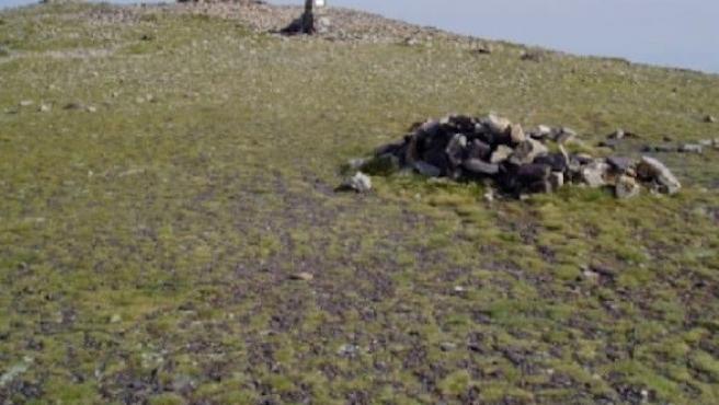 Imagen del monte Moncayo. Rdo Nota De Prensa 28/4/2020