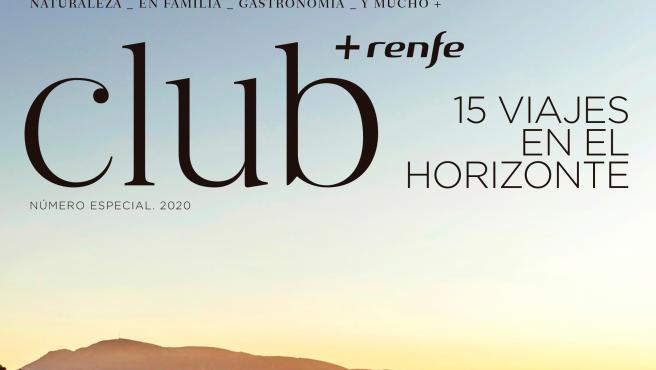 Portada de la revista 'Club+Renfe' dedicada a la Alpujarra
