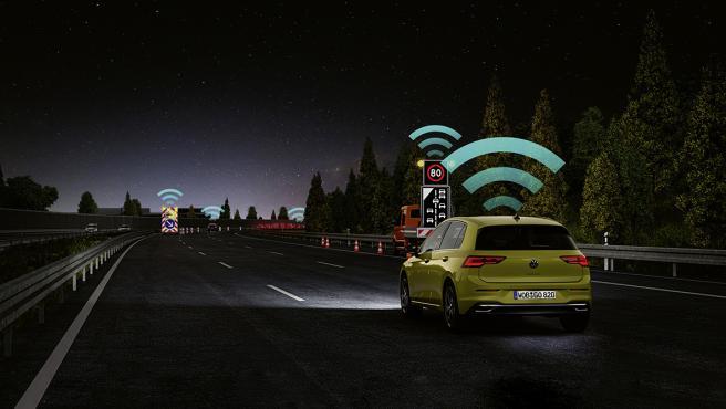 Imágenes de los test de los asistentes a la conducción de EuroNCAP