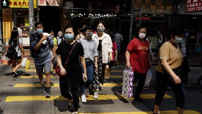 Coronavirus lockdown eased in Hong Kong