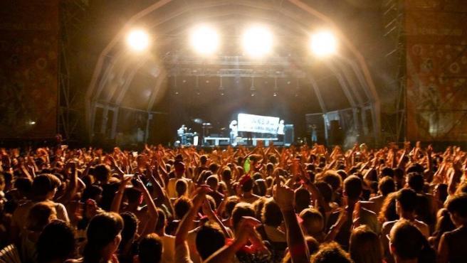 El festival de música de Burriana (Castellón) Arenal Sound en una edición pasada