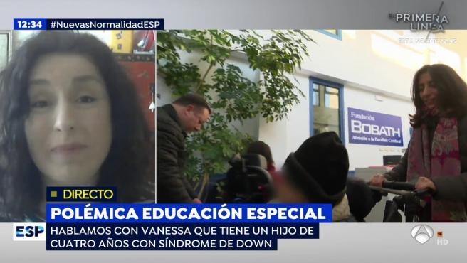 Vanessa García Marx, hija de Manolo Escobar, habla en Antena 3.