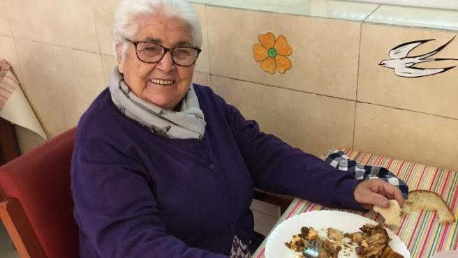 La bisabuela de Cesc Fábregas