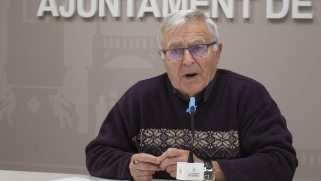 L'alcalde de València, Joan Ribó, en una imatge recent.