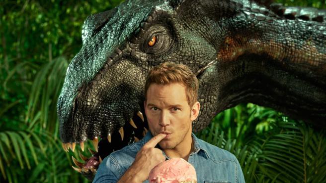 ¿Quieres que te coma un dinosaurio en 'Jurassic World 3'? Chris Pratt te da la oportunidad