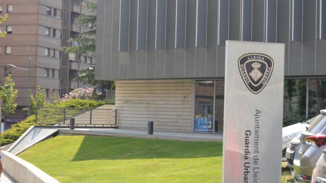 Comisaría del a Guardia Urbana de Lleida.