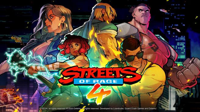 Portada de 'Streets of Rage 4'.