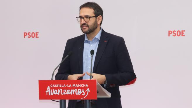 Secretario de Organización del PSOE de C-LM, Sergio Gutiérrez