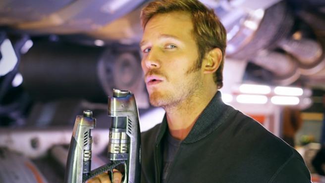 Chris Pratt no se atreve con el reto bailongo de Kevin Bacon
