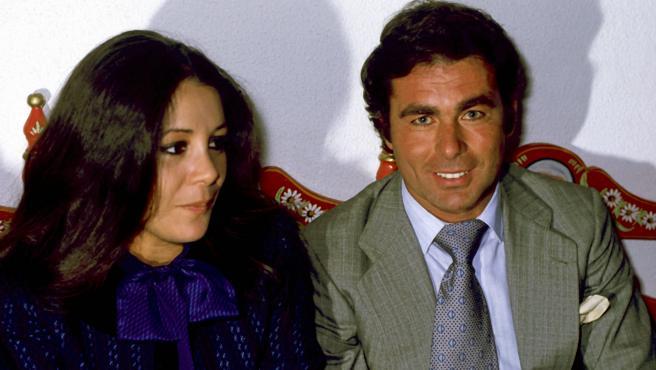 La tonadillera Isabel Pantoja y el fallecido torero Paquirri.