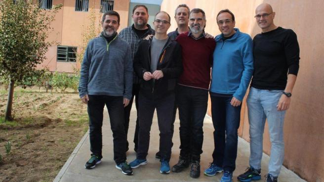 Líderes independentistas presos.