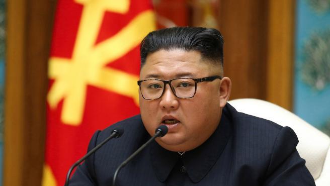 El líder de Corea del Norte, Kim Jong-un, en una foto de archivo.