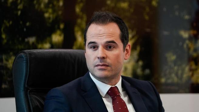 Ignacio Aguado, vicepresidente de la Comunidad de Madrid. Imagen de recurso del vicepresidente de la Comunidad de Madrid, Ignacio Aguado. 26/4/2020
