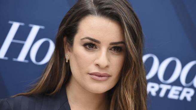 La actriz Lea Michel posa un evento en Los Angeles (California, EE UU).