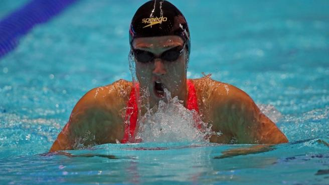 La nadadora española Mireia Belmonte.