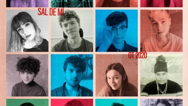 'OT 2020' presenta la canción 'Sal de mí', interpretada por los 16 concursantes.
