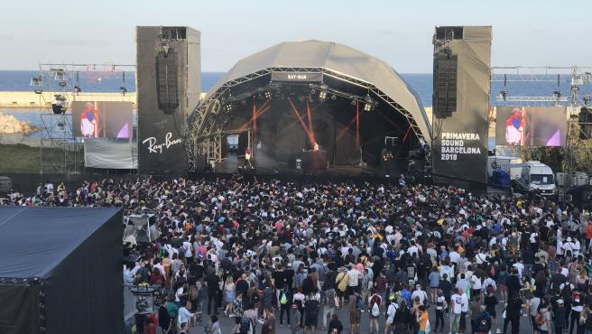 Un escenario del Primavera Sound 2019