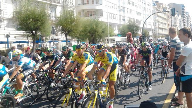 Vuelta ciclista a España en Santander (archivo)