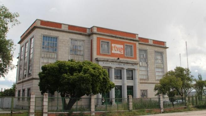 El edificio que sirve de sede para la serie 'El Ministerio del Tiempo'.