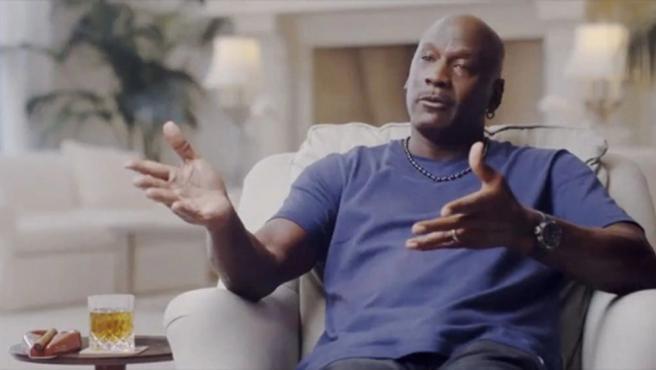 Michael Jordan, durante una entrevista en el documental 'El último baile'