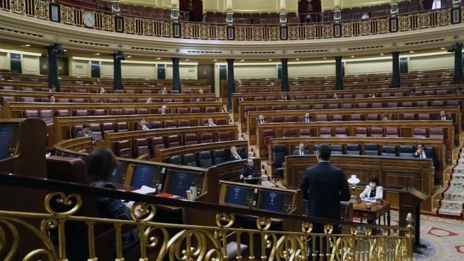Pleno del Congreso para prorrogar el estado de alarma