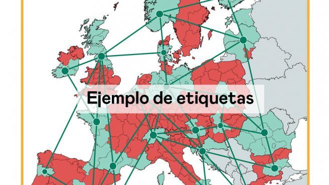 Ejemplo de mapa de zonas propuesto por ESADE.