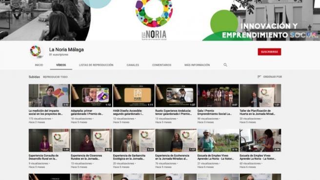 YouTube de La Noria