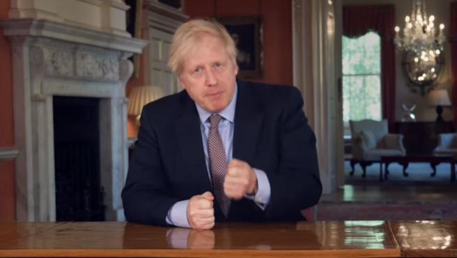El primer ministro británico, Boris Johnson, anuncia el plan de desescalada para Reino Unido.