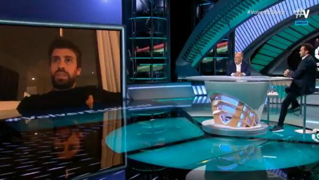 Gerard Piqué, en 'El Partidazo de Vamos'